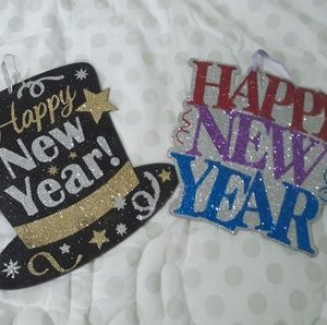 Other - New year wood decorations
